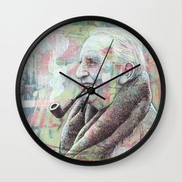JRR Tolkien - One Author To Rule Them All Wall Clock