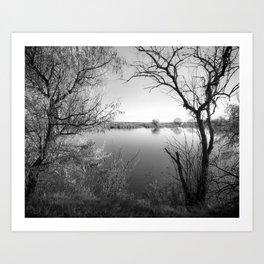 Silver Lake Art Print