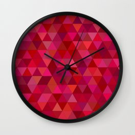 Don't even pink about it Wall Clock