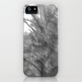 Treeage I - BW iPhone Case