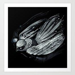 Flight in Midnight Art Print