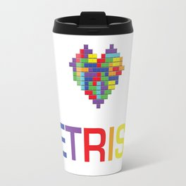 I heart Tetris Travel Mug