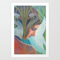 nouveau Art Prints featuring Nouveau by Patrick soper