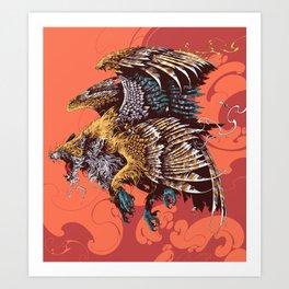 Enfield Art Print