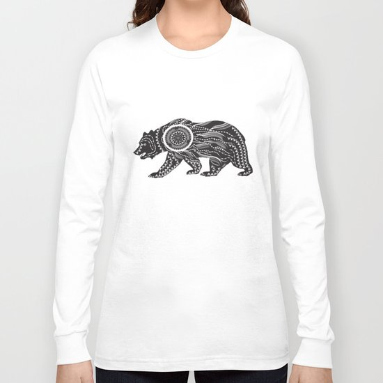 Dream Catcher Bear Long Sleeve T-shirt