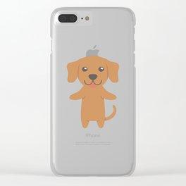 Vizsla Gift Idea Clear iPhone Case