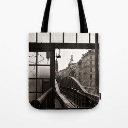 BERLIN TELETOWER - urban landscape Tote Bag