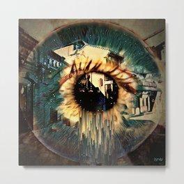 Eye Dreams Keep Quiet 5 Metal Print