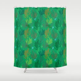 Summer mood pattern Shower Curtain