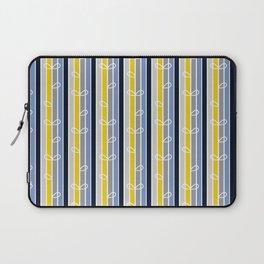 flower stripe Laptop Sleeve