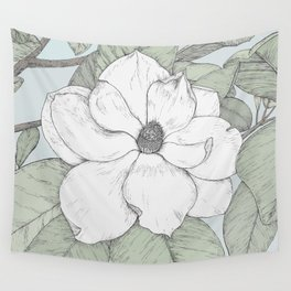 magnolia in tint Wall Tapestry