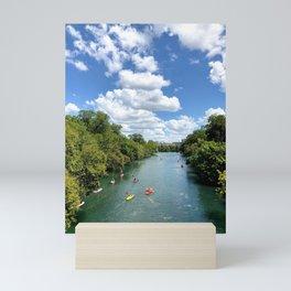 Barton Creek Kayak Mini Art Print
