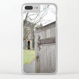 Open Doors Clear iPhone Case