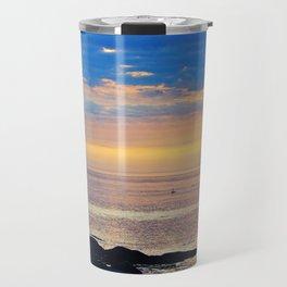 Sparkling Sunset Seascape Travel Mug