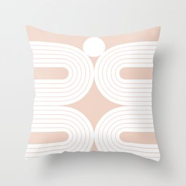 Abstraction_LINES_Minimalism_001 Throw Pillow