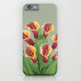 Calla Lily 2a iPhone Case