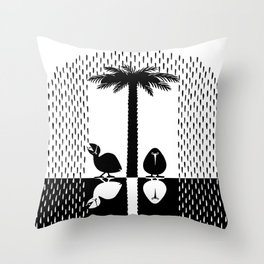 Waiting For The End Throw Pillow