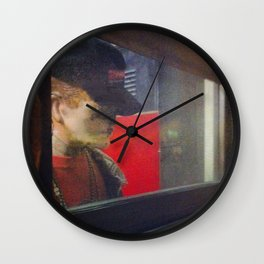 Nonhuman Lookout Wall Clock