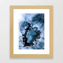 Crystal Blue Fantasy Framed Art Print