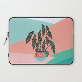 Dotted Begonia Love Laptop Sleeve
