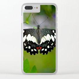 Butterfly Large Clear iPhone Case