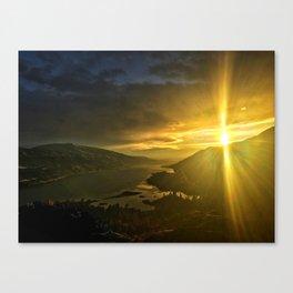 Rowena Sunrise Canvas Print
