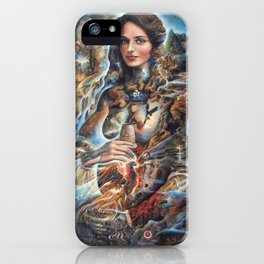 Our Lady of Water iPhone Case