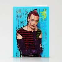 danny haas Stationery Cards featuring Danny Hennesy by brett66
