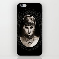 audrey iPhone & iPod Skins featuring Audrey  by Isaiah K. Stephens