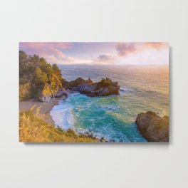 Magical Cove, Big Sur II Metal Print
