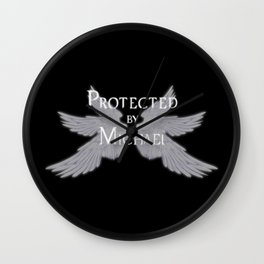Protected by Michael Wall Clock