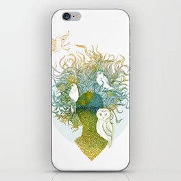 Spring birds iPhone Skin