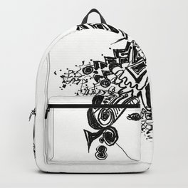 Curly Girl by Christiane Backpack