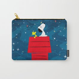 Snoopy Looking at The Stars Carry-All Pouch