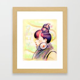 Sweet Dj Framed Art Print