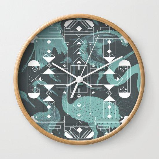 Eumaniraptora Wall Clock