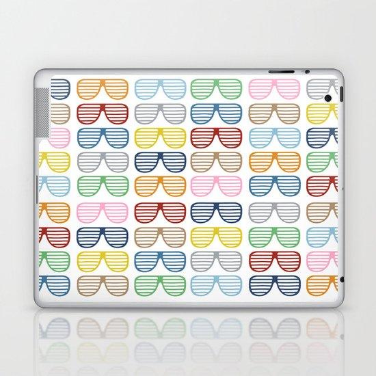 Rainbow Shutter Shades Laptop & iPad Skin
