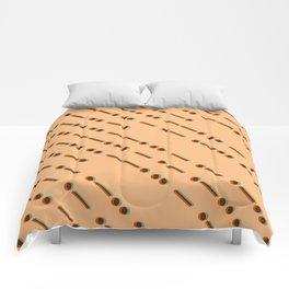 Digital Rain Comforters