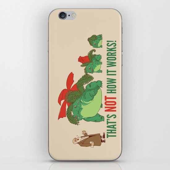 Conflicting Theories iPhone Skin