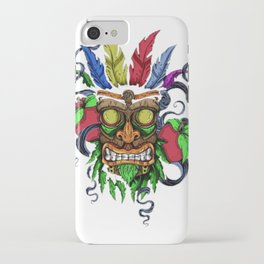 Face in Colors iPhone Case