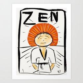Zen Now Art Print