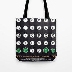 Underwood N°5 Typewriter Tote Bag