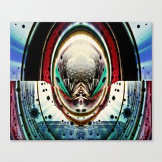 Psychedelic Pinball Canvas Print