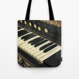 Organ Keys Tote Bag