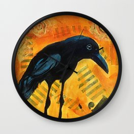 Crowing Around Wall Clock