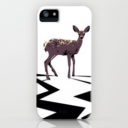 Deer Electrified iPhone Case