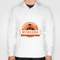 swanson Hoodies featuring Swanson Burgers by ThePencilClub