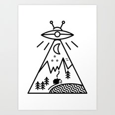 They Made Us Art Print