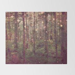 Autumn Lights Throw Blanket