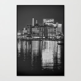 Domino Sugars Canvas Print